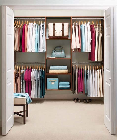 Closet Organization Ideas For Small Spaces by Closet Ideas For Small Spaces 01 Small Room Decorating Ideas