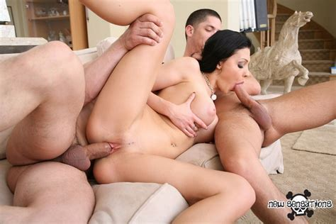 Busty Aletta Ocean In Mmf Group Hardcore Fuck Love Pichunter