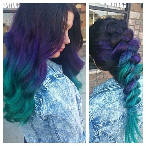 108 Best Hair Colors Images On Pinterest Colourful Hair