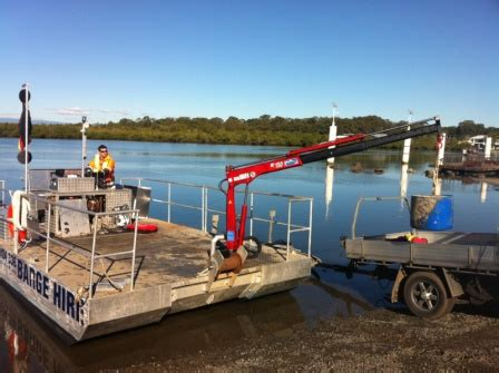 Boat Lift Barges For Sale by Barge Hire Gold Ocast Barge Hire Australia Punt Hire