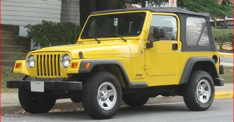 jeep type types of jeep wranglers