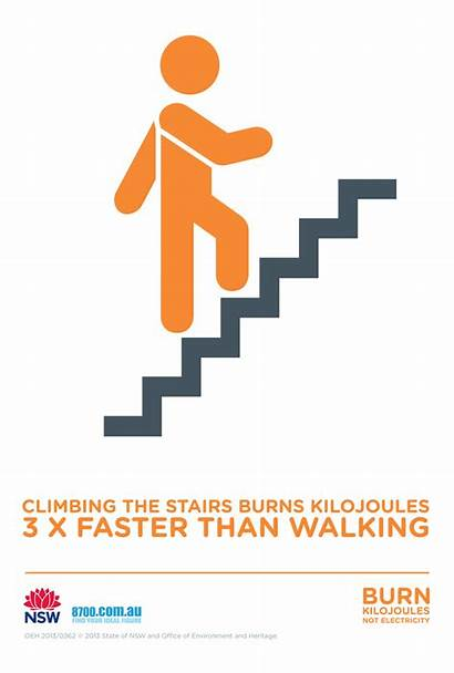 Stairs Take Climbing Infographics Facts