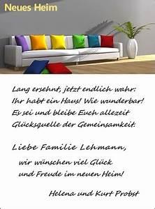 Glückwünsche Zum Eigenen Haus : mustertexte f r gl ckw nsche und gr e gl ckwunschkarte ~ Lizthompson.info Haus und Dekorationen
