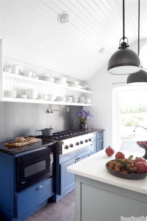 blue  white kitchen decor farmhouse kitchen design ideas