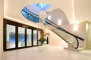 photo interieur maison design meilleures images d With entree de maison design 1 maison contemporaine blanche avec un interieur design