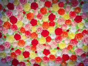 Mur De Fleurs : d cor mural diy rose caramelle carnet d 39 inspiration ~ Farleysfitness.com Idées de Décoration