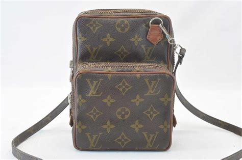 auth louis vuitton monogram amazon shoulder bag  model