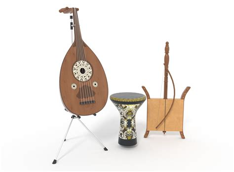 Arab musical instruments this guide is divided into three sections: Arabic musical instruments 3D   CGTrader