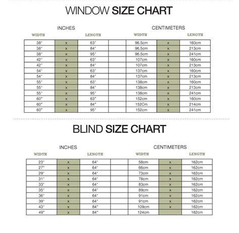 curtain size chart curtain menzilperde net