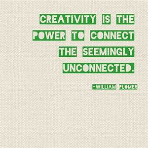 {Quote} Creativity is... | Quotes & Inspiration | Pinterest