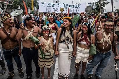 Indigenous Rainforest Waorani Ecuadorian Win Government Victory