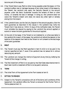 victoria commercial property lease agreement template With lease for commercial property template