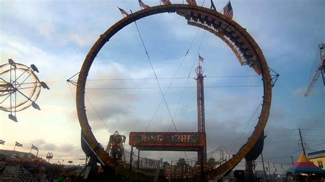 Ring of Fire Roller Coaster Ride