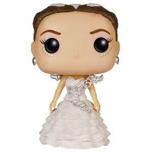 katniss everdeen wedding dress figurine katniss wedding dress the hunger funko pop