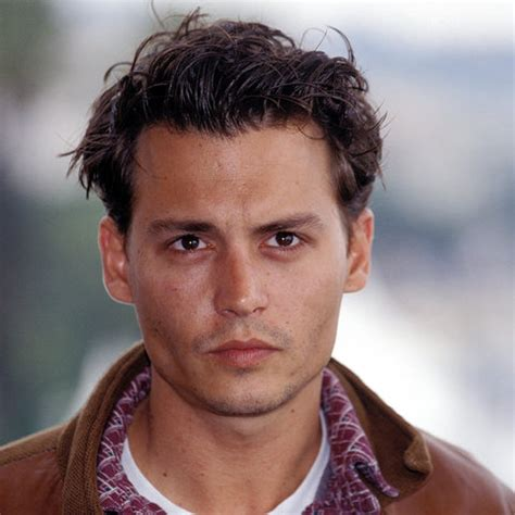 johnny depp hair styles johnny depp s changing looks instyle 1850