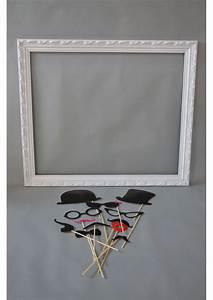 Cadre Blanc Photo : 1 cadre photobooth blanc ~ Teatrodelosmanantiales.com Idées de Décoration