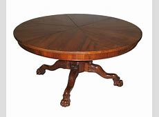 Dining Table Expanding Circular Dining Table