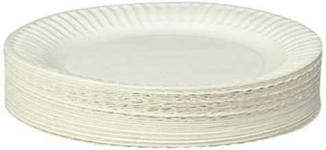 Uncoated Paper Plates. Ajm Packaging Corporation Pp9grawh