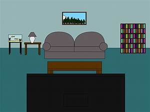 Cartoon 'Living Room Front' Scene by mjb1225 on DeviantArt
