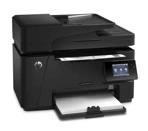 Thanks to its compact shape, you don't need to worry about space. Toner para impresora HP Laserjet Pro MFP M127FW