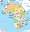 Blank Map of Africa   Large Outline Map of Africa ...