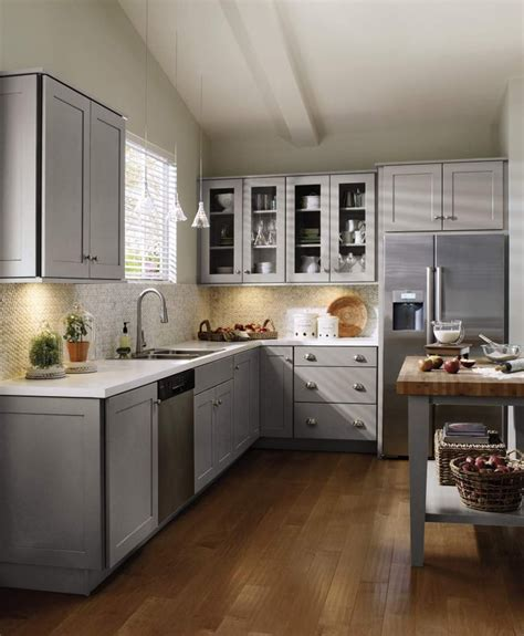 grey shaker cabinets kitchen 48 best images about schrock cabinetry on pinterest
