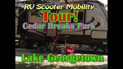 Get one now while the special offer and featured flavors are still available! RV Scooter Mobility! Cedar Breaks Campground Tour Georgetown Texas | Georgetown texas ...
