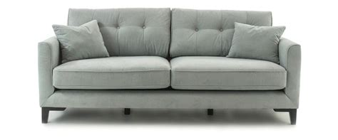 Light Grey Sofa by Inspire 3 Seater Sofa In Light Grey