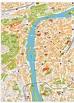 Prague Vector Maps. Illustrator, freehand, eps digital ...