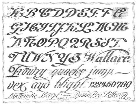 Calligraphy Alphabet  February 2013