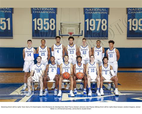 kentucky wildcats  team photo picture poster