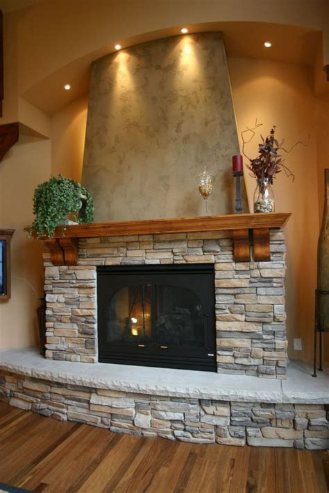 fireplace   tiny rocks home decorating trends