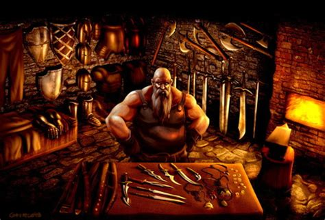 blacksmith fantasy abstract background wallpapers