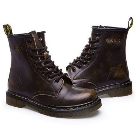 good cheap motorcycle boots cheap new england style dr 100 genuine leather martin