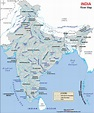 Rivers and Tributaries of India with Map - Entri Blog