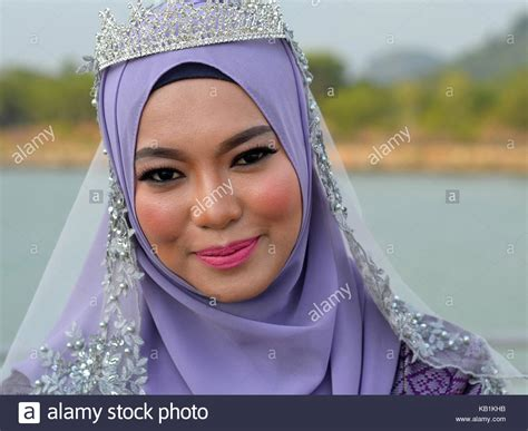 Traditional Malay Dress High Resolution Stock Photography