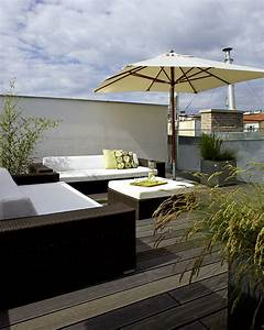 Pflanzen Für Dachterrasse : dachterrasse gestalten so geht 39 s sch ner wohnen ~ Michelbontemps.com Haus und Dekorationen