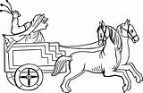 Chariot Horse Clipart Drawn Drawing War Carriage Charioteer Roman Trojan Transparent Empire Clipground Pegasus Egyptian Pixabay Egypt Clipartmag Prev sketch template
