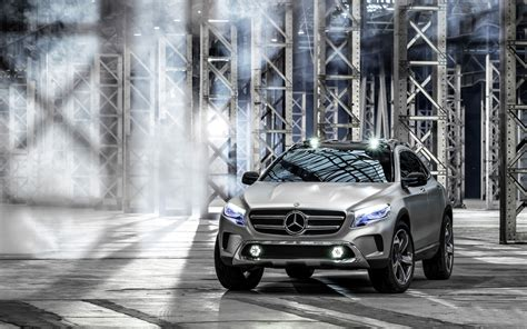 mercedes benz gla concept wallpaper hd car