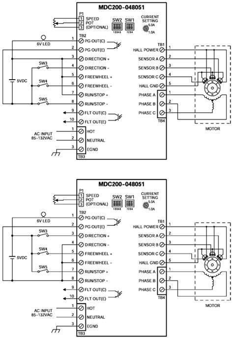 mdc200 brushless dc speed controllers