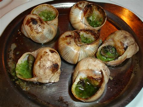 escargot cuisiné images
