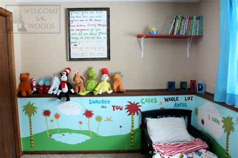 Dr. Seuss Kids Room-welcome To The Woods