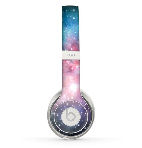 colorful beats the colorful neon space nebula skin for from design skinz