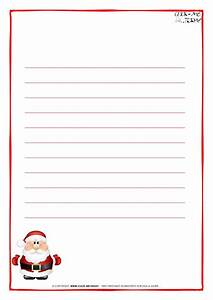 letter to santa claus paper template with lines cute santa 16 With paper to write letter to santa
