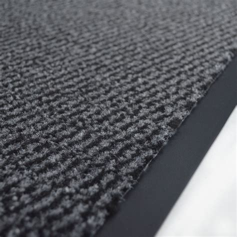 tapis entr 233 e accueil anti salissures 224 la coupe anthracite