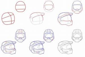 100+ ideas How To Draw A Halo Spartan Helmet on spectaxmas ...