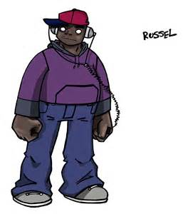 Russel From Gorillaz
