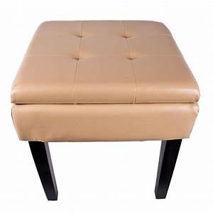 Sitztruhe Mit Stauraum : hochwertige sitztruhe sitzhocker mit stauraum beige ebay ~ Indierocktalk.com Haus und Dekorationen