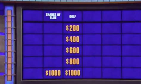 This Jeopardy! Golf Clue Is Really Messed Up