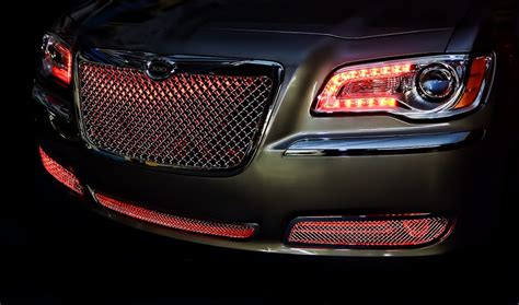 Halo Lights For Chrysler 300 by Chrysler 300 Halos Multi Color Grille Led Lighting Halos